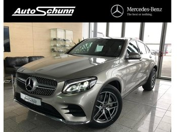 PKW MERCEDES-BENZ GLC 300 Coupe 4Matic AMG-EXCLUSIVE-MEMORY-NAVI