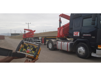 Container Side Loader - Container/ Wechselfahrgestell Auflieger