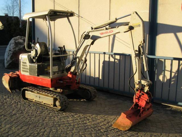 Geliebte Takeuchi TB 016 Minibagger in Österreich zum Verkauf – Truck1 @IX_46