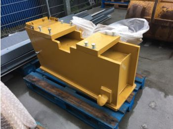 RIPPER PUSH BLOCK  for CATERPILLAR 140H / 140M grader - Sitz