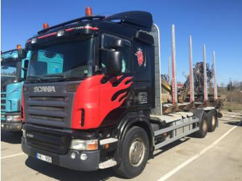 SCANIA R480 - Holztransporter