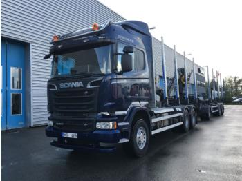 SCANIA R500 - Holztransporter