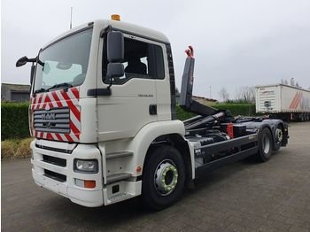 MAN TGA 26.350 6X2 CONTAINER SYSTEEM- CONTAINER SISTEEM- CONTAINER HAAKSYSTEEM- SYSTEME CONTENEUR - Abrollkipper