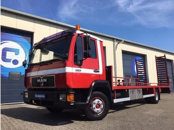 Autotransporter LKW MAN 10-163 LL 4x2 Oprijwagen - machinetransporter - MANUAL - Payload : 5560 kg