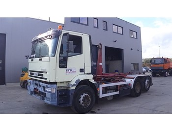 Iveco Eurotech 260 E 31 (MANUAL GEARBOX / BELGIAN TRUCK IN GOOD CONDITION / 6X2) - Containerwagen/ Wechselfahrgestell LKW