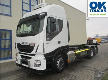 Iveco Stralis AS260S42Y/FPCM - Containerwagen/ Wechselfahrgestell LKW
