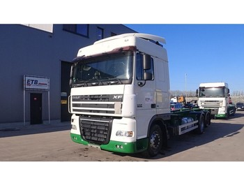 Fahrgestell LKW DAF 105 XF 410 Space Cab (6X2 / 8 TIRES / MANUAL GEARBOX / 8 ROUES / BOITE MANUELLE)