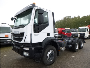 Iveco Trakker AD380T41 Euro 5 6x4 chassis / NEW/UNUSED - Fahrgestell LKW