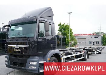 Fahrgestell LKW MAN MAN ACKERMANN TGM 15.290 , E6 , 4x2, Retarder ,FULL AIR SUSPENSION , BDF , ai TGM 15.290 , E6 , 4x2, Retarder ,FULL AIR SUSPENSION , BDF , ai Z-EAF 11/7 , 7,2m , air suspension , BDF