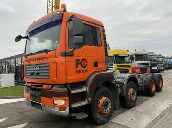 MAN TGA 32-440 8X4 MANUAL FULL STEEL - 339.247 KM  - Fahrgestell LKW