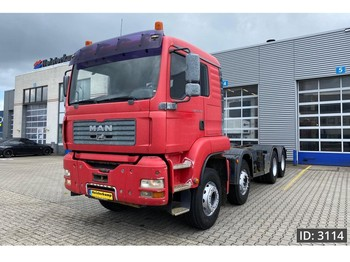 MAN TGA 35.360 M, Euro 3, // Full Steel // Manual Gearbox // Sleep Cabin - Fahrgestell LKW