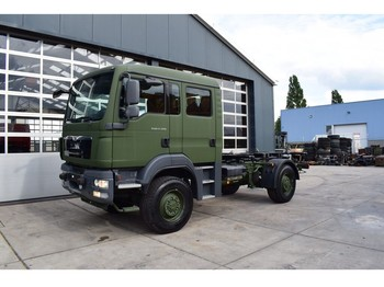 MAN TGM 13.280 BL 4×4 CHASSIS – DOUBLE / CREW CABIN NEW 2016 / E - Fahrgestell LKW