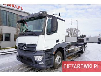 MERCEDES-BENZ Actros 1840 , E6 , 150 000 km , chassis 7,2m , lift 1500kg , ret - Fahrgestell LKW