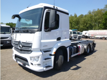 Fahrgestell LKW Mercedes Actros 2636 6x2 Euro 6 ADR chassis / container