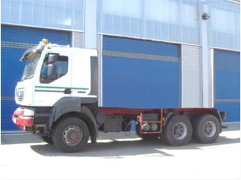 Fahrgestell LKW Renault Kerax 450.26 6x6 Standheizung/Klima/Tempomat/eFH.