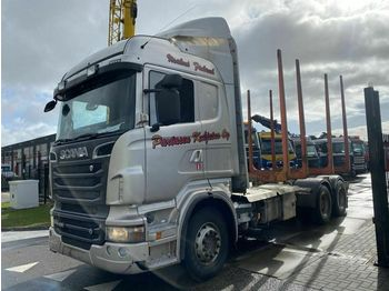 Fahrgestell LKW Scania R620-V8 6X4 FULL STEEL - HUB REDUCTION + HYDRAUL