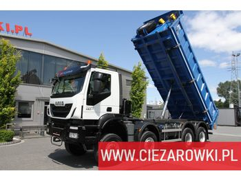 IVECO Trakker , 8x8 , E6 , Retarder , manual, 2018 , 5 units for sale - Kipper