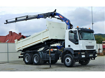 Iveco 330 Kipper 5,10m +Bordmatic/Kran*6x4*Topzustand  - Kipper