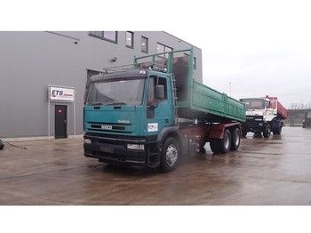 Iveco Eurotech 240 E 38 (GRAND PONT / SUSPENSION LAMES / POMPE MANUELLE) - Kipper