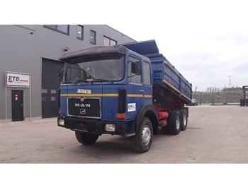 MAN 26.280 (BIG AXLE / FULL STEEL SUSPENSION /6 CYLINDER / MANUAL PUMP) - Kipper