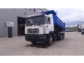 MAN 26.414 (FULL STEEL SUSPENSION / 6 CYLINDER ENGINE WITH ZF-GEARBOX / EURO 2) - Kipper