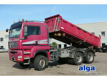 Kipper MAN 26.480 TGA BB 6x6, Allrad, Bordmatik, Klima