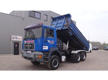 MAN 27.403 (DOUBLE FUNCTION --> TIPPER AND TRUCKHEAD / 6X6 / STEEL SUSPENSION) - Kipper