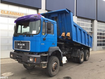 MAN 33.403 DFAK 6x6 Manual Full steel - Kipper