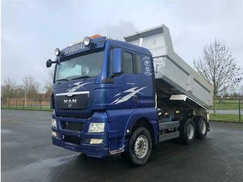 Kipper MAN TGX 33.480 6X4 MANUAL RETARDER FULL STEEL HUBRED