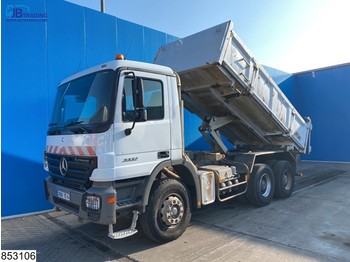 Mercedes-Benz Actros 3332 6x4, steel suspension,EPS 16, 3 pedals - Kipper