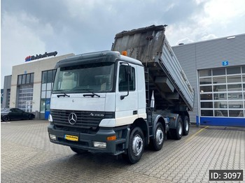 Mercedes-Benz Actros 4140 Day Cab, Euro 2, //Full steel // Manual // Big Axles - Kipper