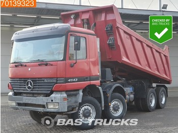 Mercedes-Benz Actros 4143 8X8 AK Manual Big-Axle Steelsuspension Euro 2 - Kipper