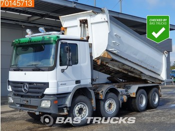 Mercedes-Benz Actros 4144 8X4 Manual Hydraulik Big-Axle Kipper 19m3 Euro 3 - Kipper