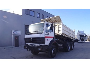 Mercedes-Benz SK 2527 (GRAND PONT / SUSPENSION LAMES / V6 / POMPE MANUELLE) - Kipper