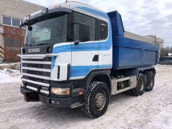 SCANIA 124 470ps - Kipper