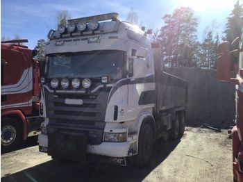SCANIA R560 6x4, full steel retarder - Kipper
