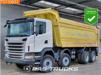 Scania G400 8X4 Manual 30m3 Big-Axle Steelsuspension - Kipper