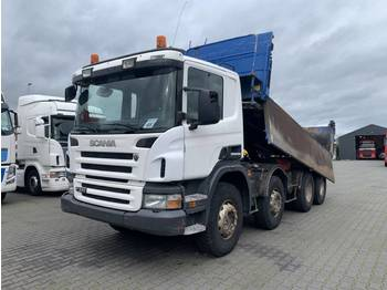 Scania P380 8X4 Manual gearbox Steelsuspension Boardmatic - Kipper