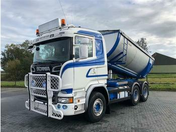 Kipper Scania R520 V8 6X4 ISOLATED ASPHALT TIPPER RETARDER FUL