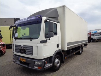 MAN TGL 12.180 + Manual + Dhollandia - Koffer LKW