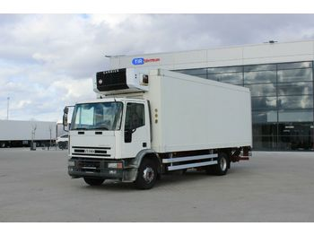Kühlkoffer LKW Iveco EUROCARGO ML 150E23 P, HYDRAULIC LIFT, CARRIER
