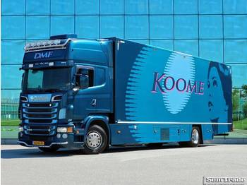 Scania R 500 V8 4X2 TOPLINE MANUAL RETARDER THERMO KING - Kühlkoffer LKW