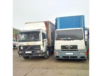 MAN 18.264 left hand drive 18 Ton detachable body twist locks - Plane LKW
