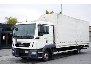 Plane LKW MAN TGL 12.220 , E6 , 4X2 , sleep cab , 18 epal , tail lift Dholland