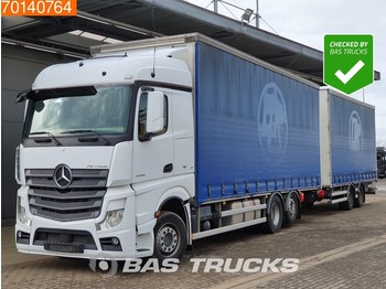 Plane LKW Mercedes-Benz Actros 2545 LS 6X2 DurchladeSysteem Liftachse 2x Tanks Euro 6