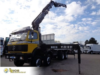 Mercedes-Benz SK 3535 Manual + HIAB 550-6-JIB 4 - Pritsche LKW