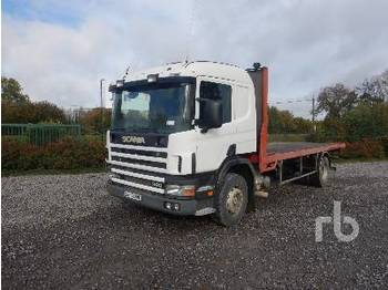 SCANIA Camion Plateau - Pritsche LKW
