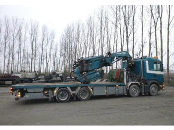 Scania R164 8x4 90T with crane Fassi F900 XP90  - Pritsche LKW