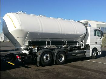 NEW MAN TGX 26.460 6x2 - SPITZER 31 m3, 4 chamber SILO NEW FOR FLOUR AND ANIMAL FOOD - Tank LKW