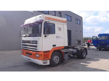 Sattelzugmaschine DAF 95 ATI 360 Space Cab (6 CYLINDER ENGINE WITH MANUAL PUMP / EURO 2)
